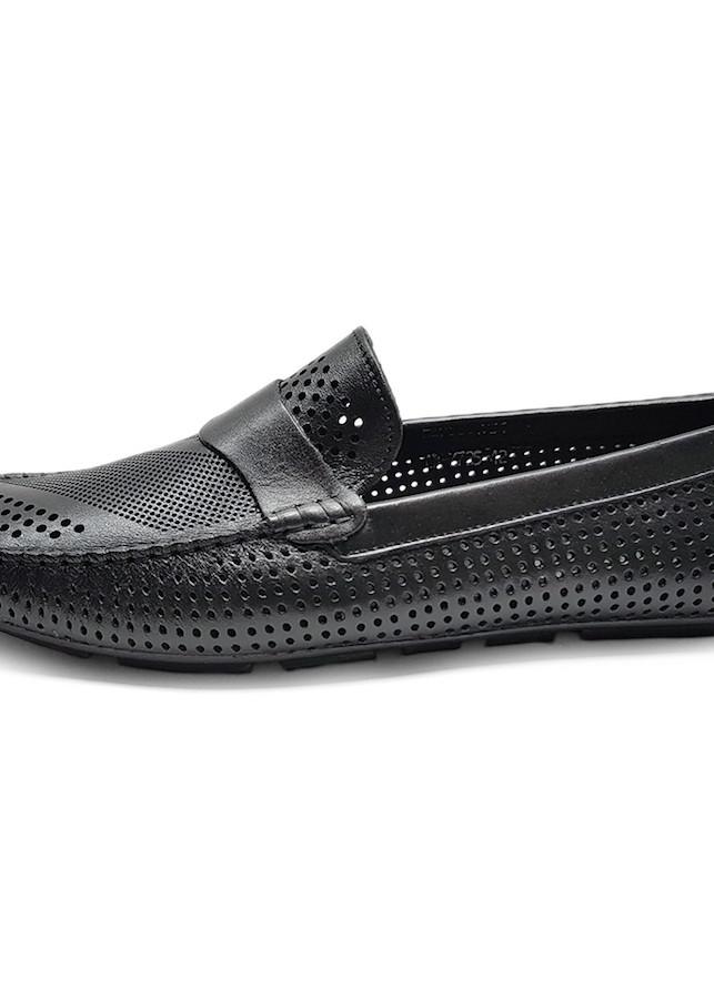 Giày Hè Nam Da Thật Giày Sandal Nam cao cấp đục lỗ siêu thoáng - Đế cao su siêu mềm MH0119