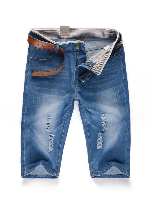 Quần Jeans short Nam bò lửng ngố thời trang xước mài Hàn Quốc JS26 - 1032788 , 4173501505728 , 62_6157123 , 320000 , Quan-Jeans-short-Nam-bo-lung-ngo-thoi-trang-xuoc-mai-Han-Quoc-JS26-62_6157123 , tiki.vn , Quần Jeans short Nam bò lửng ngố thời trang xước mài Hàn Quốc JS26