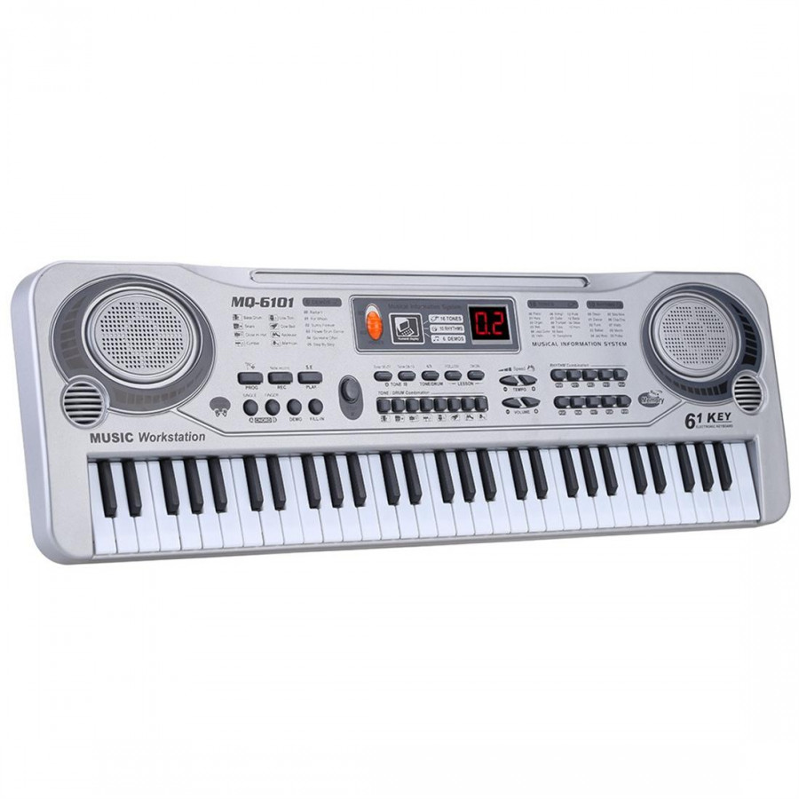 Đàn Organ MUSIC Workstation MQ-6101 21inch (61 Phím) - 1717654 , 9705041653420 , 62_11931402 , 541000 , Dan-Organ-MUSIC-Workstation-MQ-6101-21inch-61-Phim-62_11931402 , tiki.vn , Đàn Organ MUSIC Workstation MQ-6101 21inch (61 Phím)