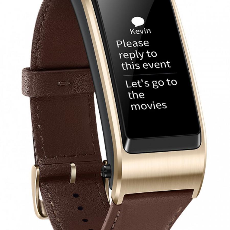 Vòng đeo tay kiêm tai nghe Bluetooth Huawei TalkBand B5 - Vàng  Nâu - 1838953 , 1154448052202 , 62_14295293 , 2950000 , Vong-deo-tay-kiem-tai-nghe-Bluetooth-Huawei-TalkBand-B5-Vang-Nau-62_14295293 , tiki.vn , Vòng đeo tay kiêm tai nghe Bluetooth Huawei TalkBand B5 - Vàng  Nâu