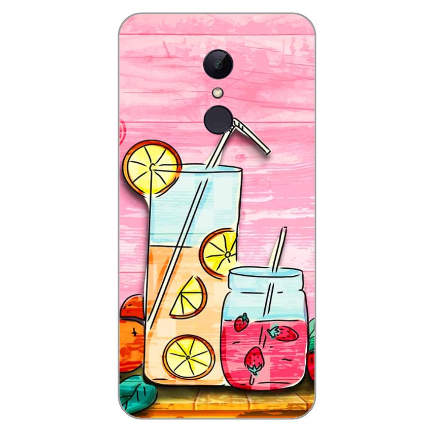 Ốp lưng dẻo cho Xiaomi Redmi 5 plus_Cocktail