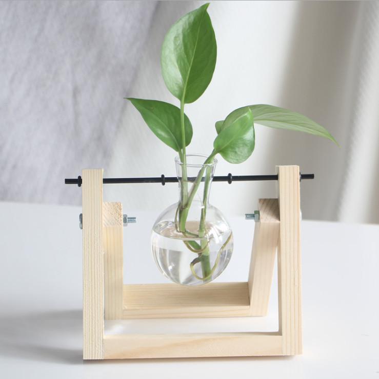 Bộ chai  thủy tinh và giá treo theo phong cách Vintage để trồng cây thủy sinh trang trí - 7323548 , 3130812388366 , 62_11050141 , 199000 , Bo-chai-thuy-tinh-va-gia-treo-theo-phong-cach-Vintage-de-trong-cay-thuy-sinh-trang-tri-62_11050141 , tiki.vn , Bộ chai  thủy tinh và giá treo theo phong cách Vintage để trồng cây thủy sinh trang trí
