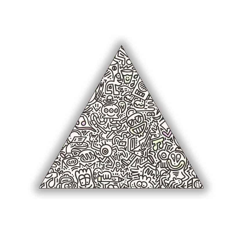 Tranh tam giác in Poster Doodle ( không khung ) - 6995948 , 1560494711596 , 62_10245743 , 164000 , Tranh-tam-giac-in-Poster-Doodle-khong-khung--62_10245743 , tiki.vn , Tranh tam giác in Poster Doodle ( không khung )