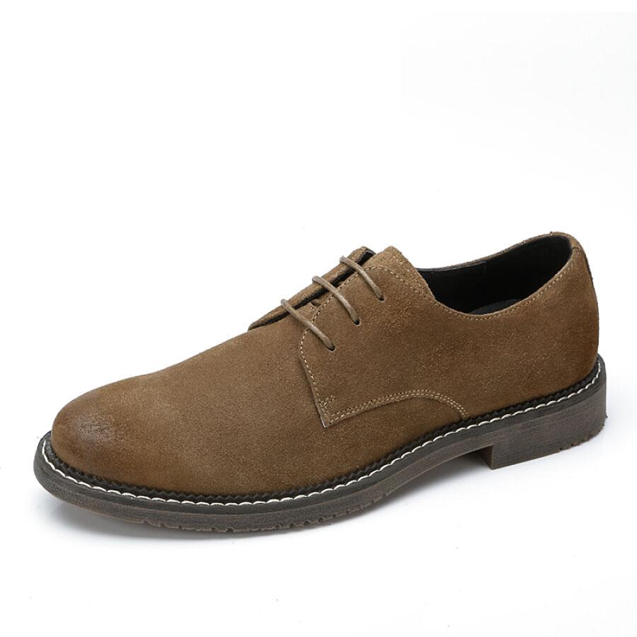 Giày Nam British Shoes Da Lộn CAMEL A812266490