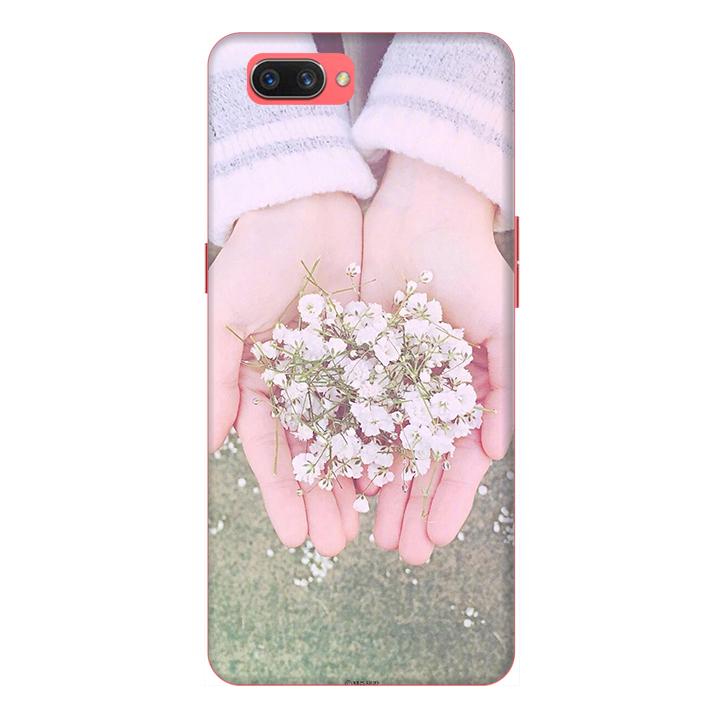 Ốp lưng điện thoại Realme C1 hình Đôi Tay Hoa Hồng