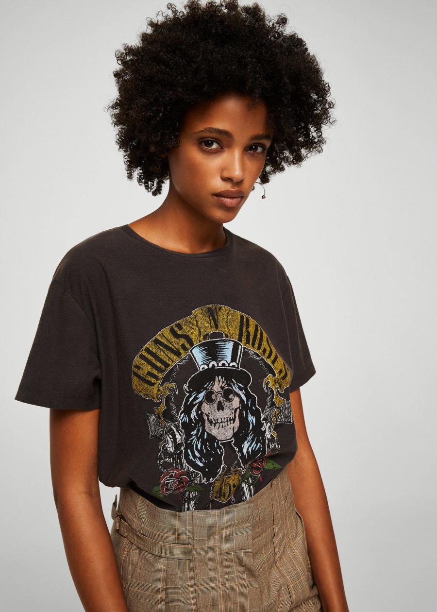 Áo Thun Nữ T-shirt Guns Mango 13055717 - Mã Màu 95