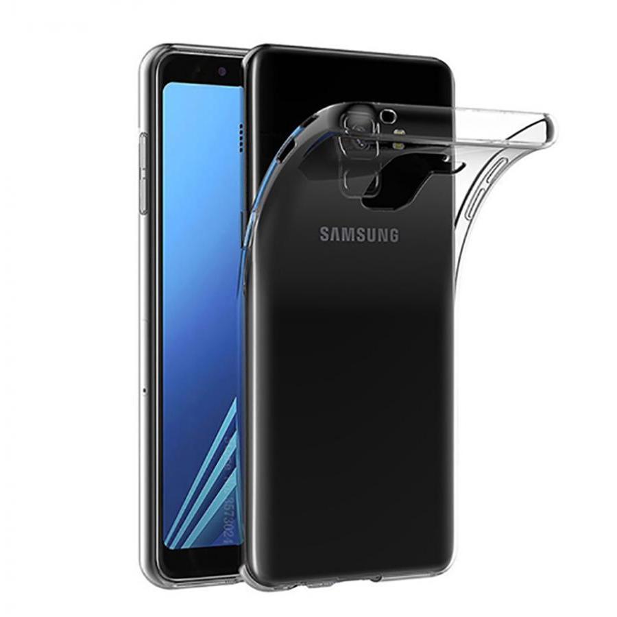 Ốp lưng cho Samsung J4 2018 dẻo trong suốt - Màu trắng trong suốt - 1069895 , 2539566145880 , 62_10681259 , 35000 , Op-lung-cho-Samsung-J4-2018-deo-trong-suot-Mau-trang-trong-suot-62_10681259 , tiki.vn , Ốp lưng cho Samsung J4 2018 dẻo trong suốt - Màu trắng trong suốt