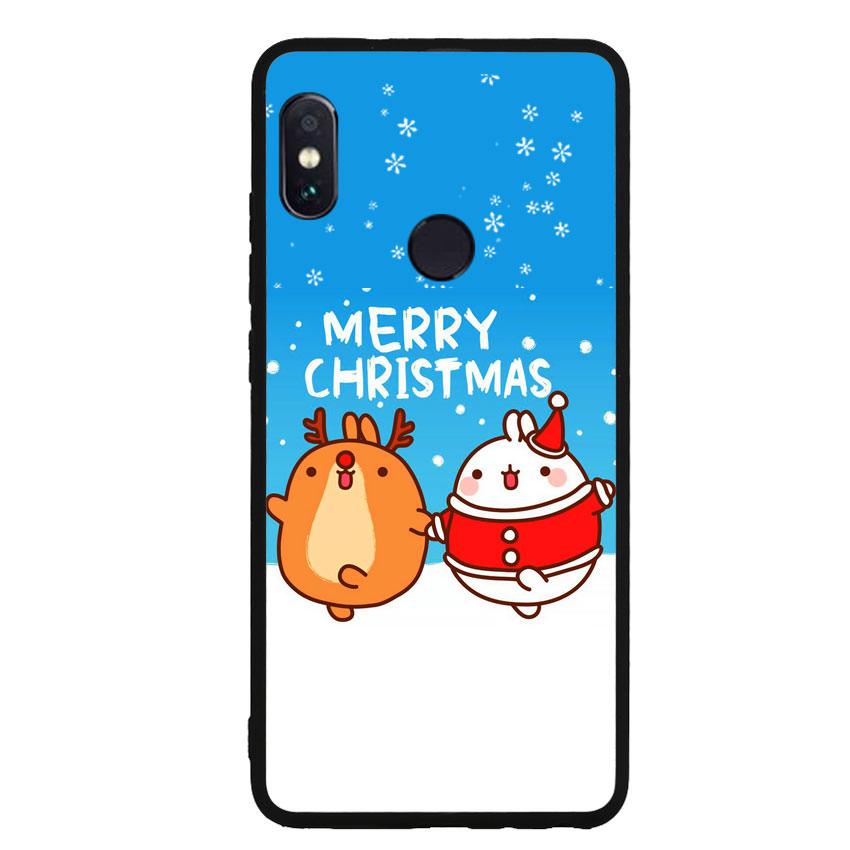 Ốp lưng viền TPU cho điện thoại Xiaomi Redmi Note 5 - Christmas 02