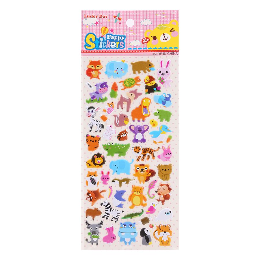 Sticker Dán Nổi Cho Bé - CC060
