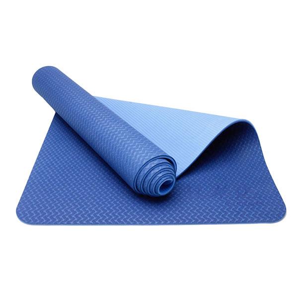 Thảm Tập Yoga ECO TPE 6mm 2 lớp Đại Nam Sport (Xanh Dương)