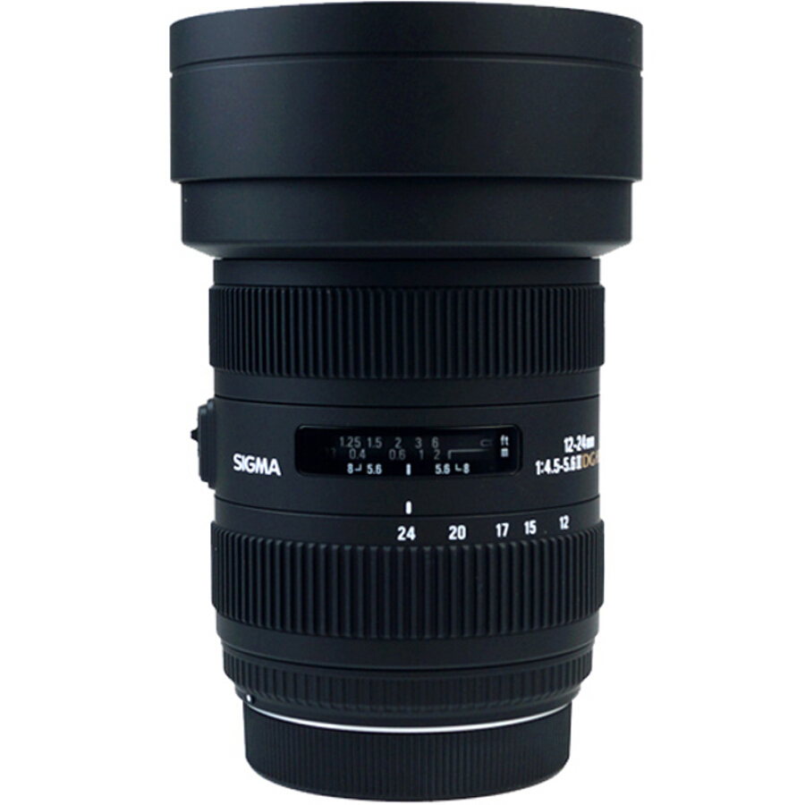 Ống Kính Zoom Góc Siêu Rộng Toàn Màn Hình Sigma (SIGMA) 12-24mm F4.5-5.6 II DG HSM,Phù Hợp Chụp Cảnh Trời(Canon Cap)