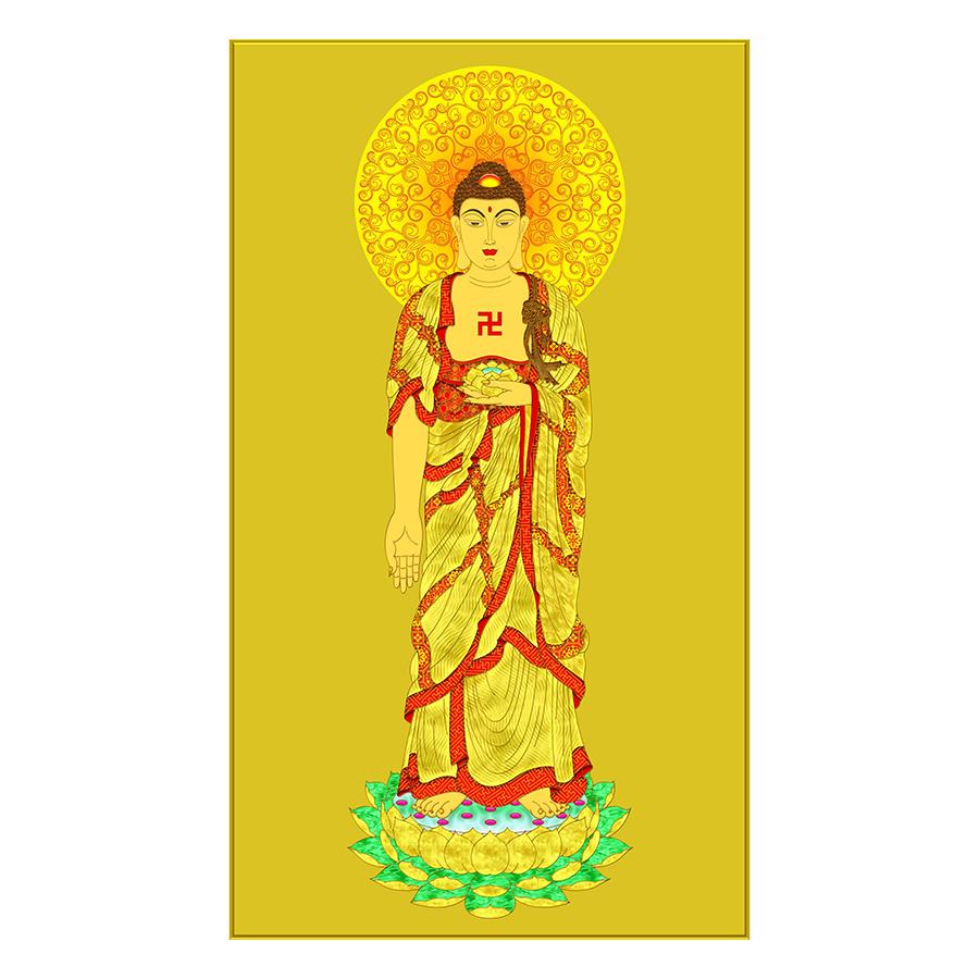 Tranh Phật Giáo Dán Tường - Mã 14