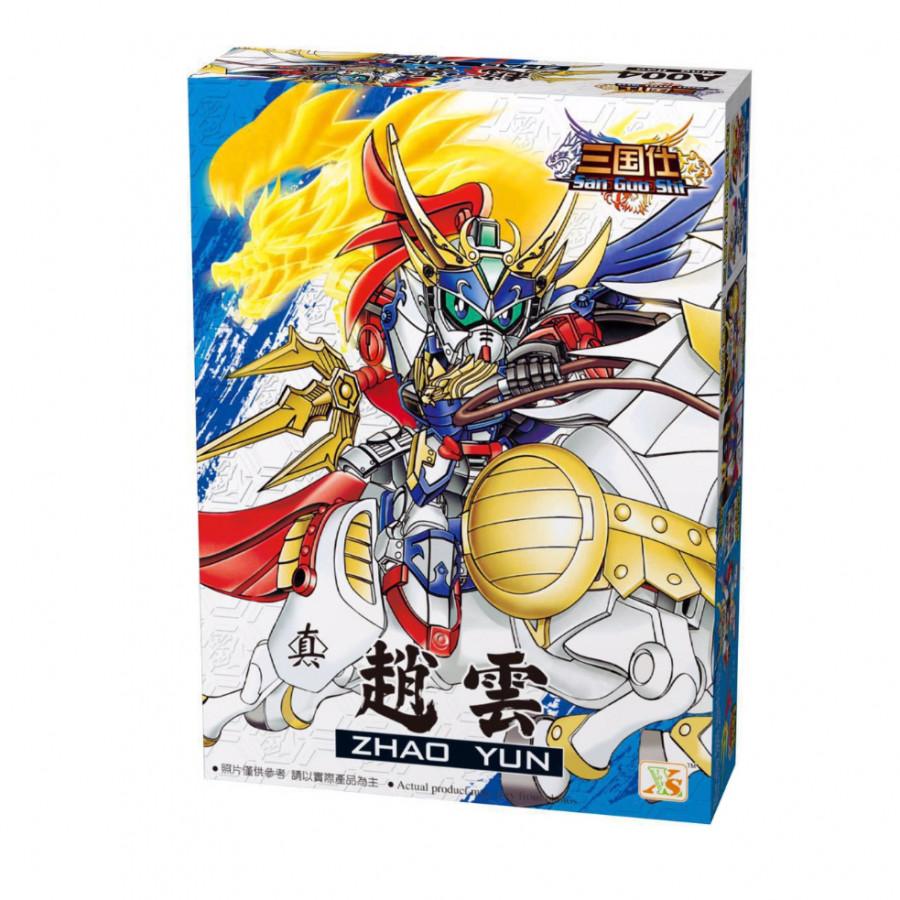 Đồ Chơi Xếp hình Gundam Triệu Tử Long - Mô Hình Lắp ghép Tam Quốc A004 - 1757631 , 9303756158614 , 62_12367691 , 199000 , Do-Choi-Xep-hinh-Gundam-Trieu-Tu-Long-Mo-Hinh-Lap-ghep-Tam-Quoc-A004-62_12367691 , tiki.vn , Đồ Chơi Xếp hình Gundam Triệu Tử Long - Mô Hình Lắp ghép Tam Quốc A004