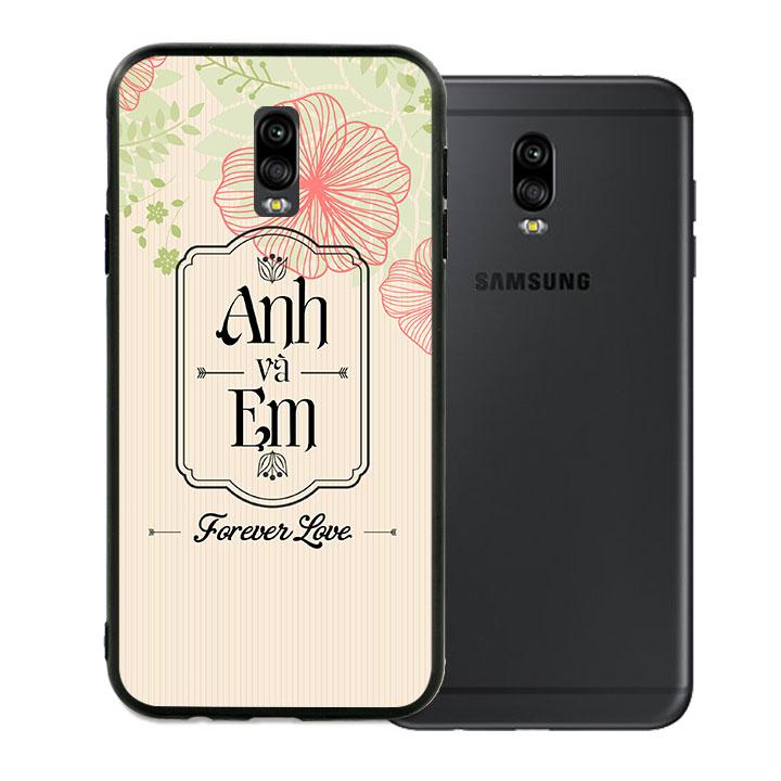 Ốp lưng viền TPU cao cấp dành cho Samsung Galaxy J7 Pro - Anh Và Em