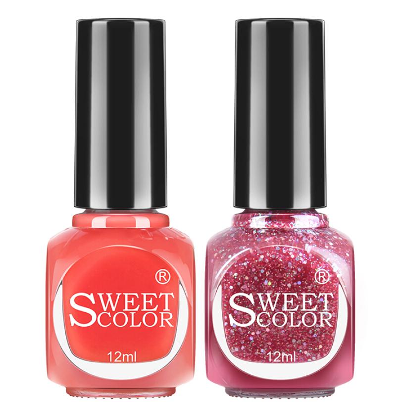 Bộ 2 Sơn Móng Tay Sweet Color (12ml)