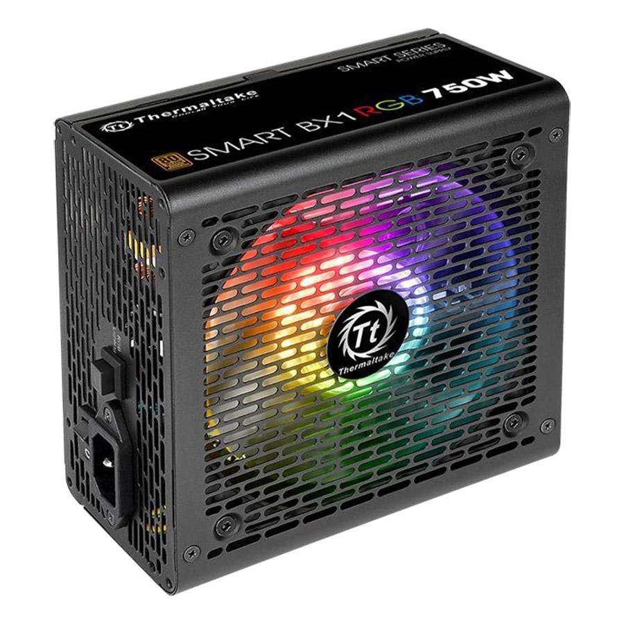 Nguồn Máy Tính PSU Thermaltake Smart BX1 RGB 750W 80 Plus Bronze PS-SPR-0750NHSABX-1 120mm - Hàng Chính Hãng