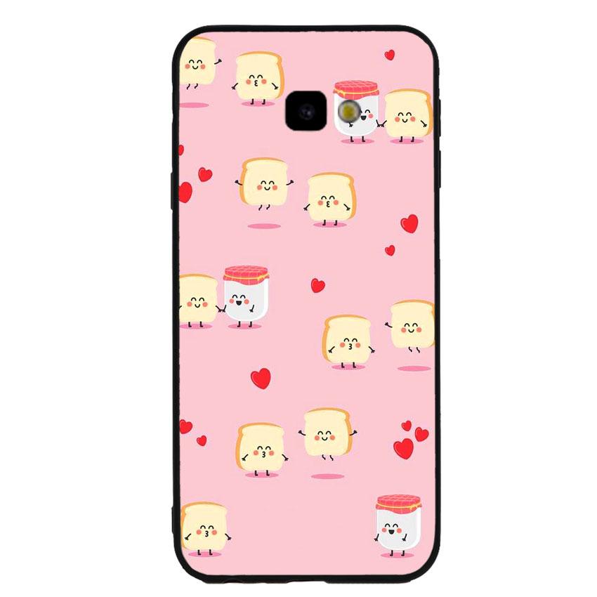 Ốp lưng nhựa cứng viền dẻo TPU cho điện thoại Samsung Galaxy J4 Plus - Cartoon 02