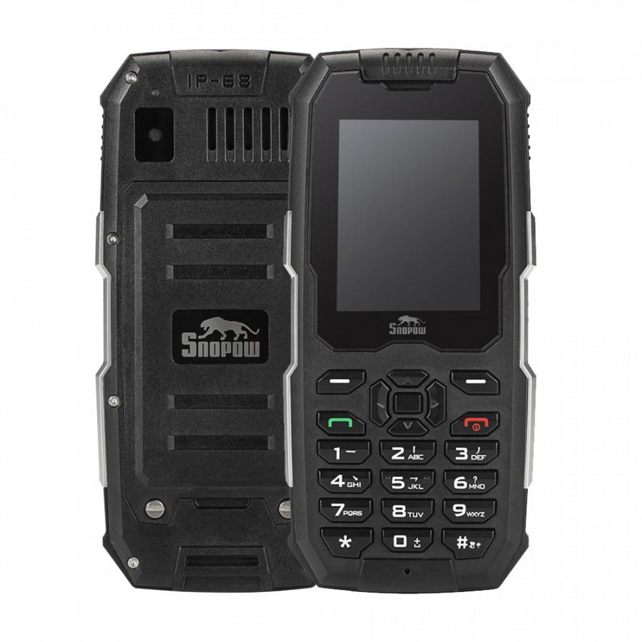 Snopow M2 2G Rugged Feature Mobile Phone IP68 Waterproof Dustproof Shockproof Loud Speaker 2500mAh 2.4inch GSM