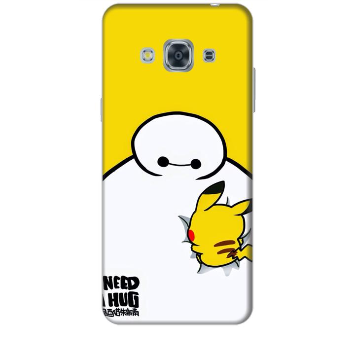 Ốp lưng dành cho điện thoại  SAMSUNG GALAXY J3 PRO 2016 hinh Big Hero Pikachu
