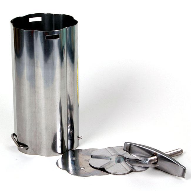 Khuôn làm giò chả inox 2kg - 1251917 , 9896692836857 , 62_14851355 , 160000 , Khuon-lam-gio-cha-inox-2kg-62_14851355 , tiki.vn , Khuôn làm giò chả inox 2kg