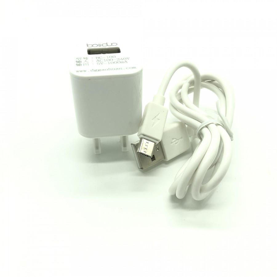 Củ Sạc Boliduo BC-100 – Kèm Cáp Sạc Micro USB - Sạc An Toàn - Hàng Chính Hãng - 18550704 , 8165919264270 , 62_20555651 , 145000 , Cu-Sac-Boliduo-BC-100-Kem-Cap-Sac-Micro-USB-Sac-An-Toan-Hang-Chinh-Hang-62_20555651 , tiki.vn , Củ Sạc Boliduo BC-100 – Kèm Cáp Sạc Micro USB - Sạc An Toàn - Hàng Chính Hãng