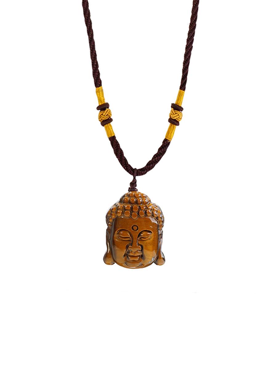 Dây Chuyền Phật Tổ Opal Tự Nhiên
