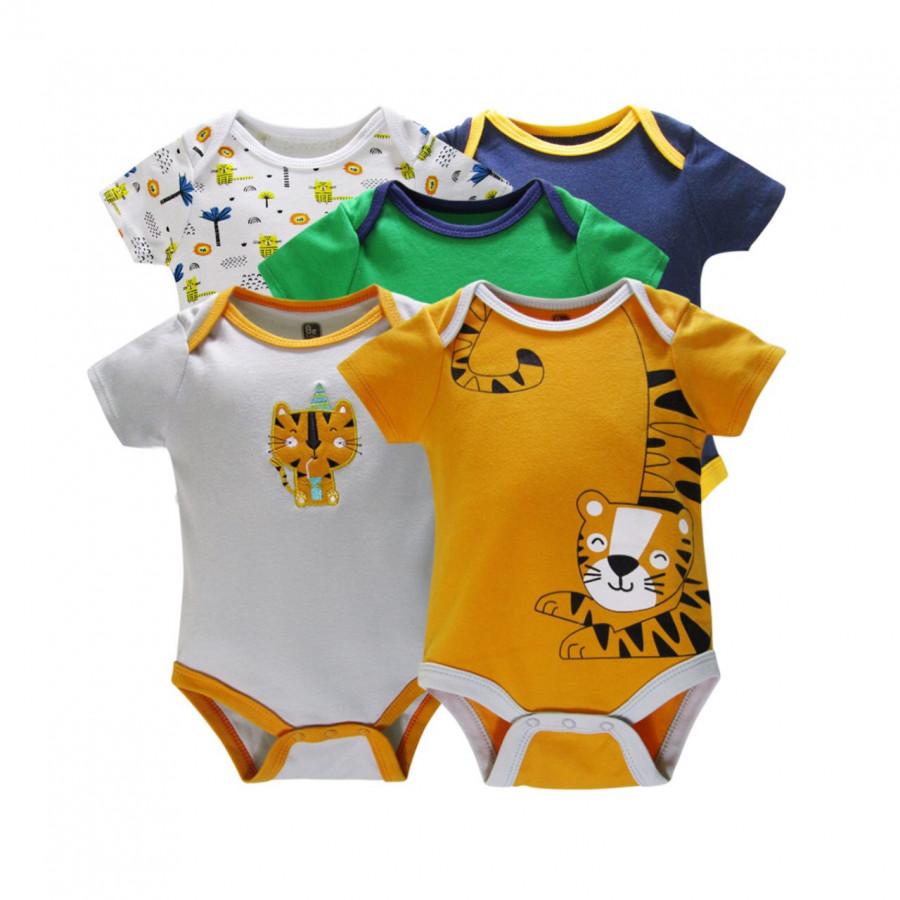 Quần áo cho bé sơ sinh mùa hè 5 chiếc