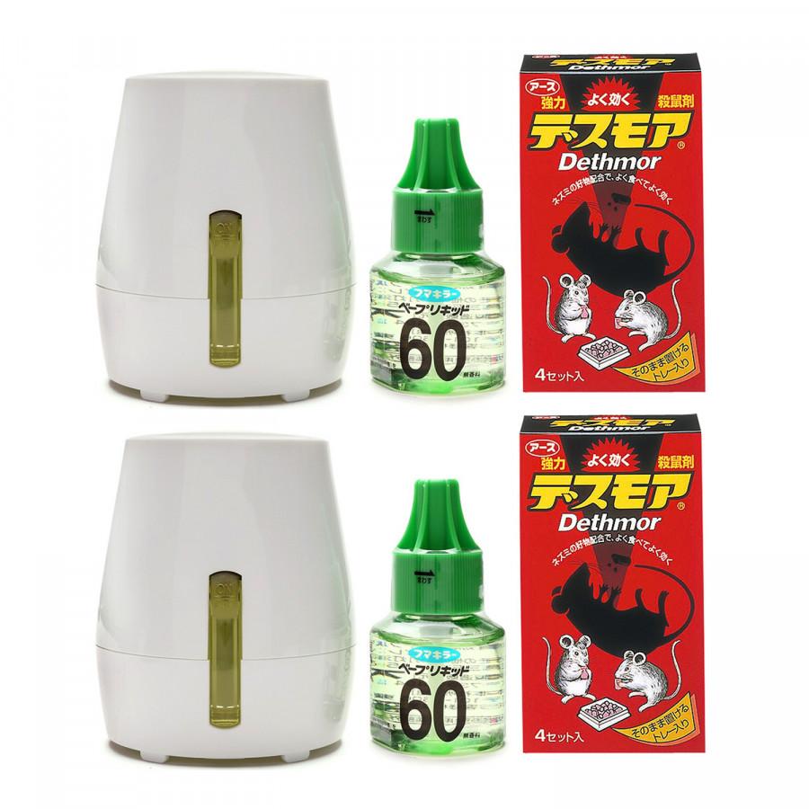 Combo Thuốc diệt chuột dạng viên + Máy đuổi muỗi, côn trùng kèm tinh dầu nội địa Nhật Bản - 1451724 , 5102614294730 , 62_8441496 , 1500000 , Combo-Thuoc-diet-chuot-dang-vien-May-duoi-muoi-con-trung-kem-tinh-dau-noi-dia-Nhat-Ban-62_8441496 , tiki.vn , Combo Thuốc diệt chuột dạng viên + Máy đuổi muỗi, côn trùng kèm tinh dầu nội địa Nhật Bản