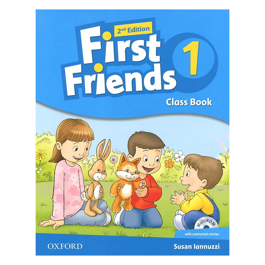 First Friends 1: Class Book and MultiROM Pack