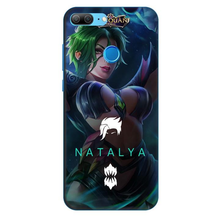 Ốp lưng nhựa cứng nhám dành cho Honor 9 Lite in hình Natalya