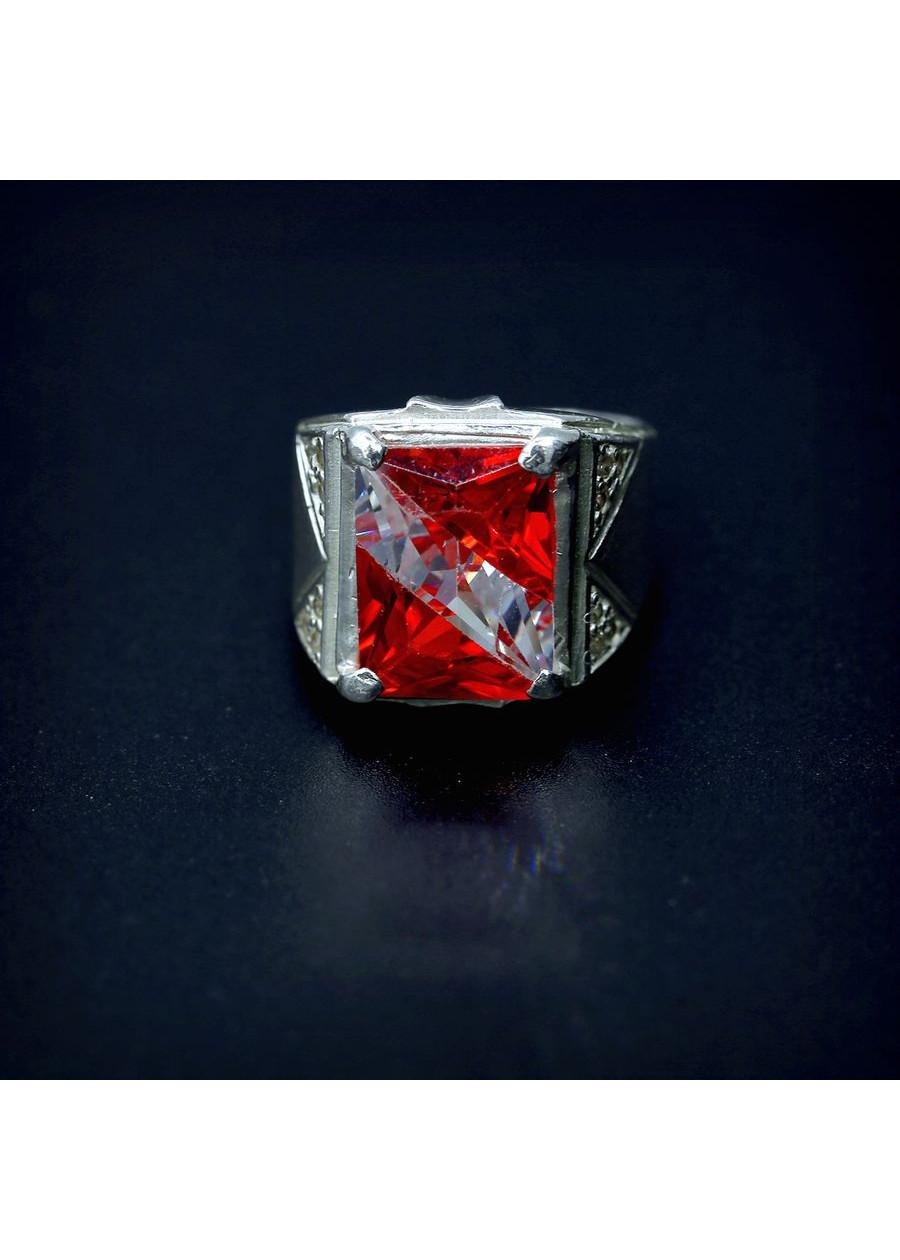 Nhẫn bạc nam đá ghép vuông trắng đỏ PVN1807 - 18650421 , 4873700043853 , 62_23395147 , 276000 , Nhan-bac-nam-da-ghep-vuong-trang-do-PVN1807-62_23395147 , tiki.vn , Nhẫn bạc nam đá ghép vuông trắng đỏ PVN1807