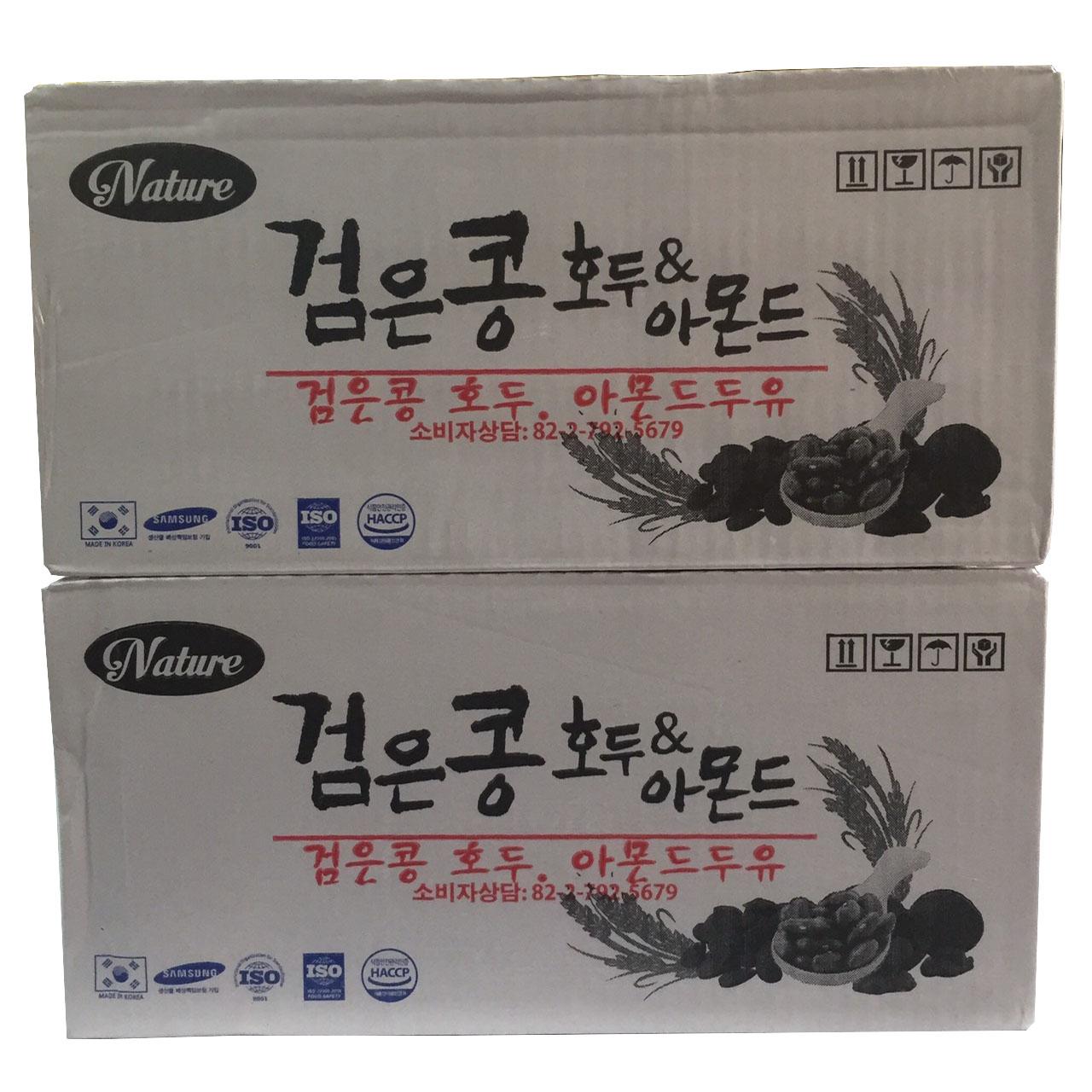Combo 2 thùng Sữa Đậu Đen Óc Chó Hạnh Nhân Nature Hàn Quốc (190ml x 24 hộp) bồi bổ sức khỏe, sữa óc chó hạnh... - 18744620 , 4351472169662 , 62_34645498 , 799000 , Combo-2-thung-Sua-Dau-Den-Oc-Cho-Hanh-Nhan-Nature-Han-Quoc-190ml-x-24-hop-boi-bo-suc-khoe-sua-oc-cho-hanh...-62_34645498 , tiki.vn , Combo 2 thùng Sữa Đậu Đen Óc Chó Hạnh Nhân Nature Hàn Quốc (190ml x