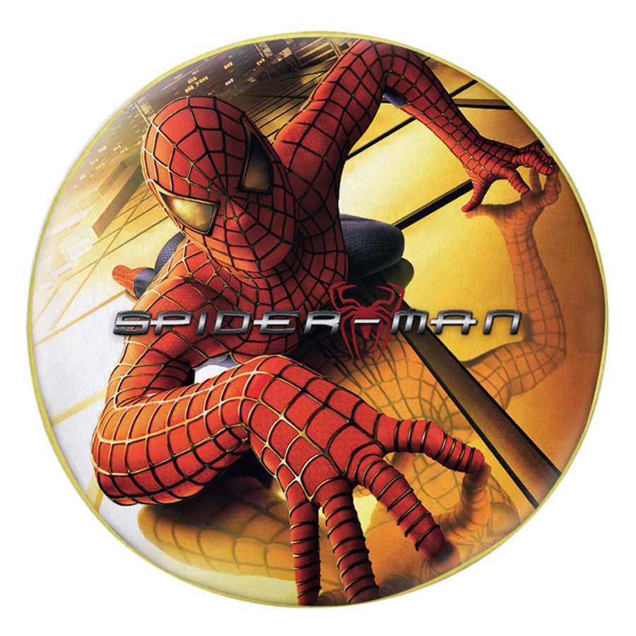 Gối Ôm Tròn In Hình Spider Man - GOFF291