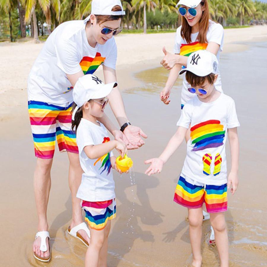 Bộ đồng phục gia đình đi biển cho bé (cầu vồng) - MADE IN VIETNAM - 2124354 , 8506965168592 , 62_13510733 , 199000 , Bo-dong-phuc-gia-dinh-di-bien-cho-be-cau-vong-MADE-IN-VIETNAM-62_13510733 , tiki.vn , Bộ đồng phục gia đình đi biển cho bé (cầu vồng) - MADE IN VIETNAM