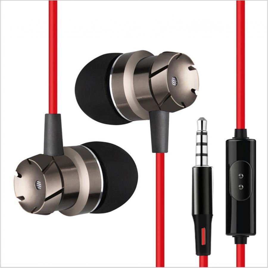 Tai nghe nhét tai cao cấp eData Super Bass dây chống rối cho iPhone/iPad/Samsung 2018