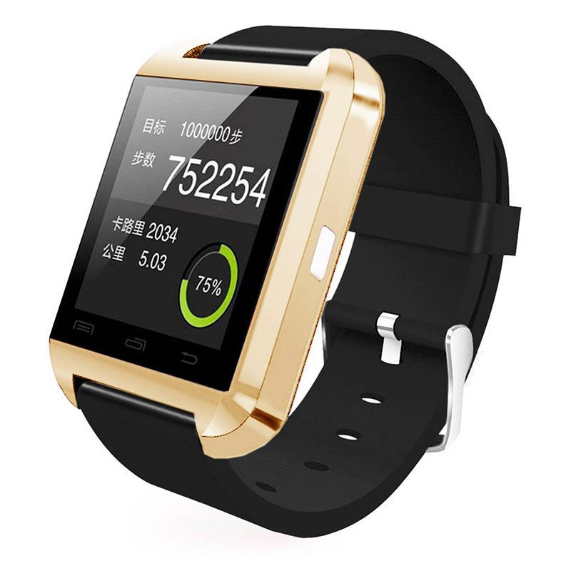 Bluetooth V4.0 Smart Watch Phone Music Pedometer For Android iPhone Convenient