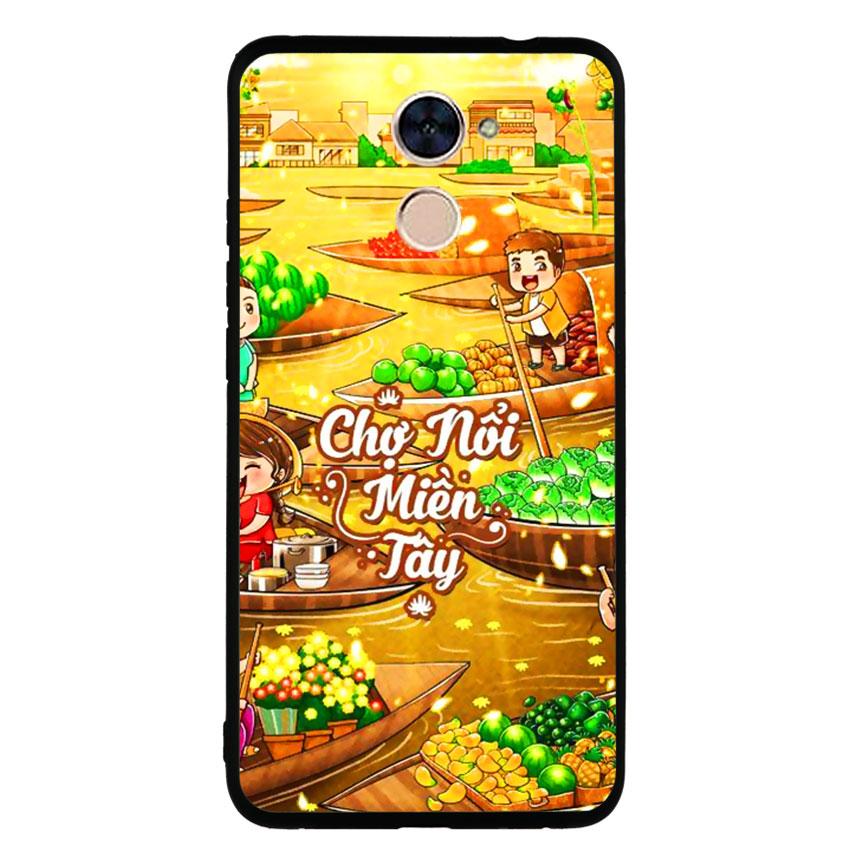 Ốp Lưng Viền TPU cho điện thoại Huawei Y7 Prime -Chợ Nổi Miền Tây