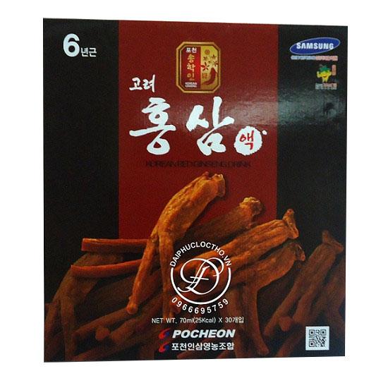 Nước Hồng Sâm Pocher Hàn Quốc 6 Tuổi