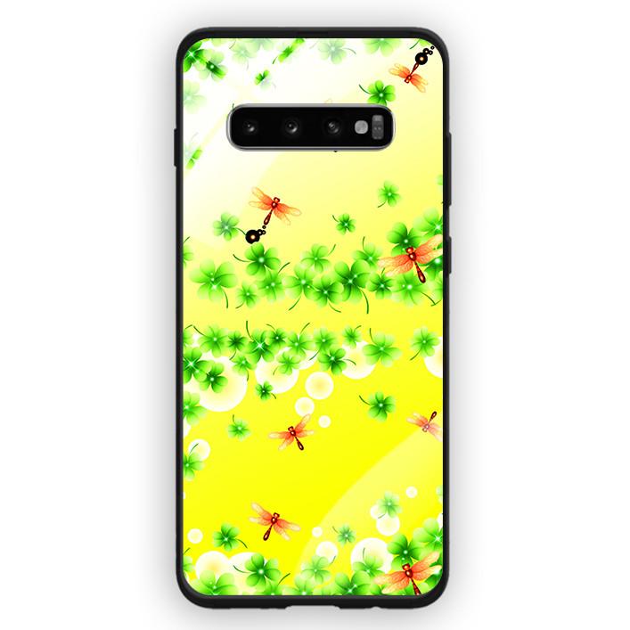 Ốp Lưng Kính Cường Lực Cho Điện Thoại Samsung Galaxy S10 Plus - 391 0057 COBONLA04 - Hàng Chính Hãng
