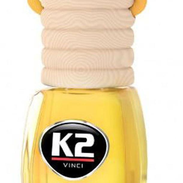 K2 vento lemon - nước hoa hương chanh, khử mùi ô tô, lọ treo cao cấp