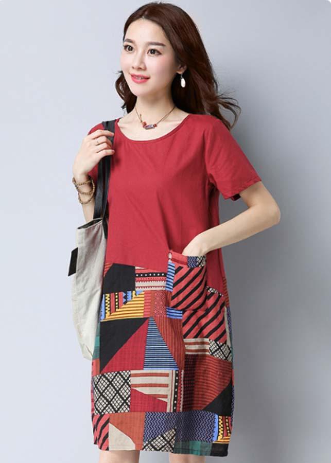 Đầm suông dành cho người mập bụng - Big Size từ M-4XL - 848855 , 3811894583169 , 62_13771701 , 285000 , Dam-suong-danh-cho-nguoi-map-bung-Big-Size-tu-M-4XL-62_13771701 , tiki.vn , Đầm suông dành cho người mập bụng - Big Size từ M-4XL