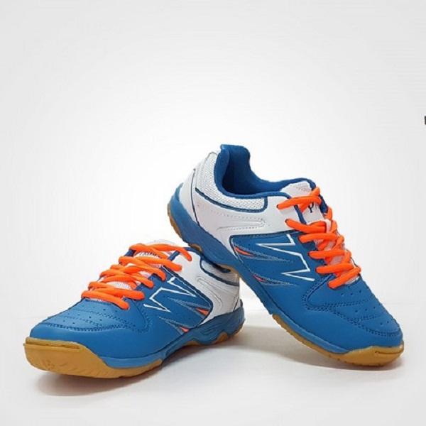 Giày cầu lông Nam chuyên nghiệp PR17009 - màu xanh - Tặng bình làm sạch giày cao cấp