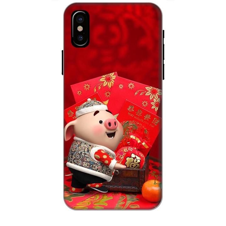 Ốp Lưng Dành Cho Điện Thoại Iphone Xs Max Heo Lì Xì