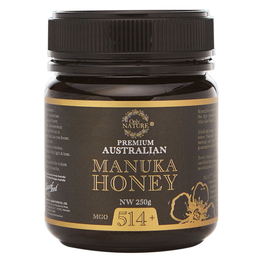 Mật Ong Manuka Ony Nature Queenfood 514+ (250g)