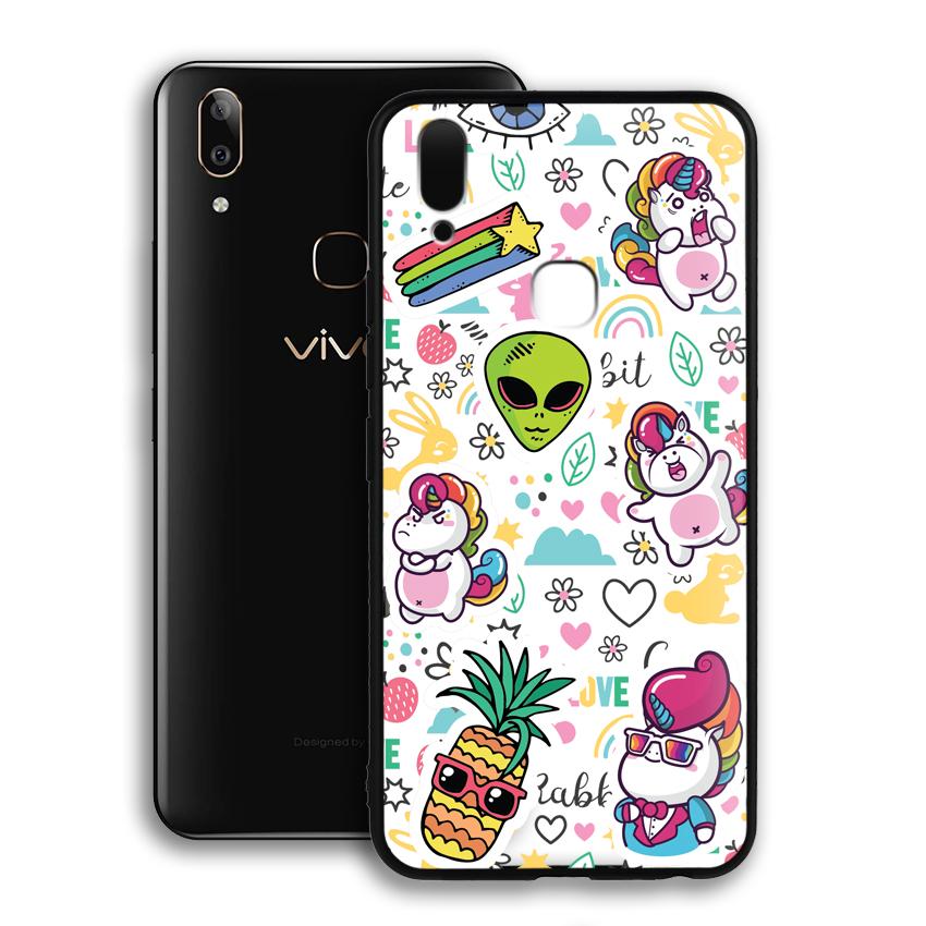 Ốp lưng viền TPU cho điện thoại Vivo V9 / Y85 - 02074 0525 LOL03 - Hàng Chính Hãng