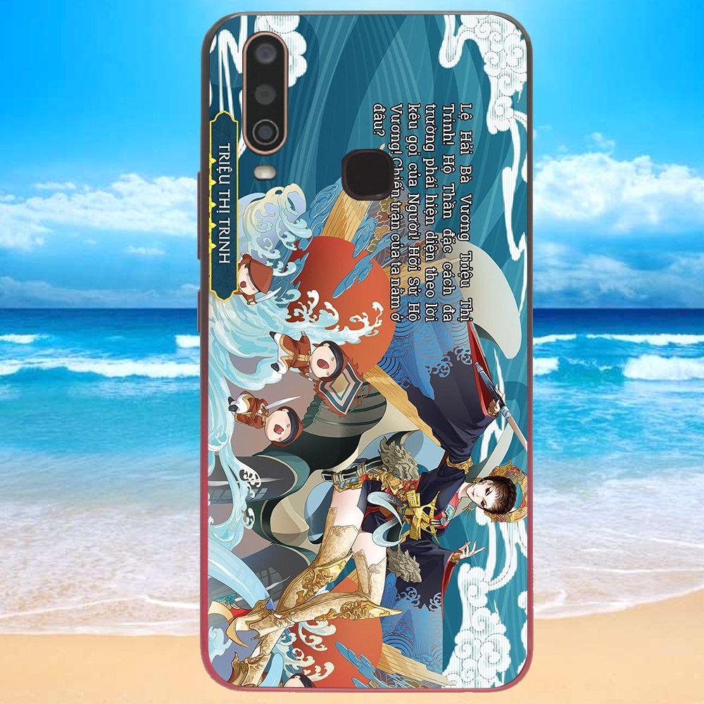 Ốp lưng điện thoại Vivo Y15 - sử hộ vương MS SHV022-Hàng Chính Hãng Cao Cấp