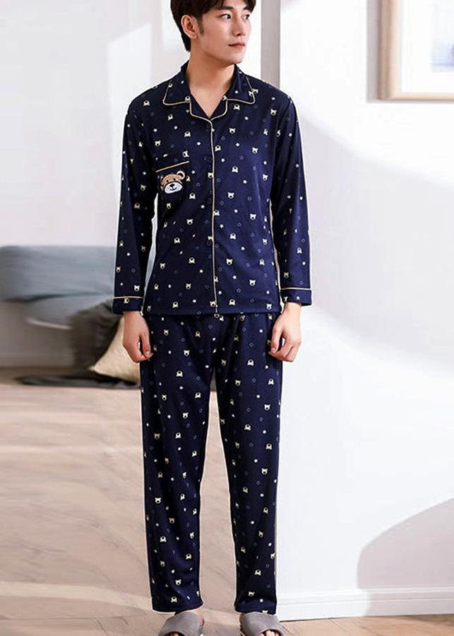 Bộ đồ ngủ pyjama nam Hàn Quốc cao cấp 109 - 9547493 , 7702248658069 , 62_11088185 , 408000 , Bo-do-ngu-pyjama-nam-Han-Quoc-cao-cap-109-62_11088185 , tiki.vn , Bộ đồ ngủ pyjama nam Hàn Quốc cao cấp 109