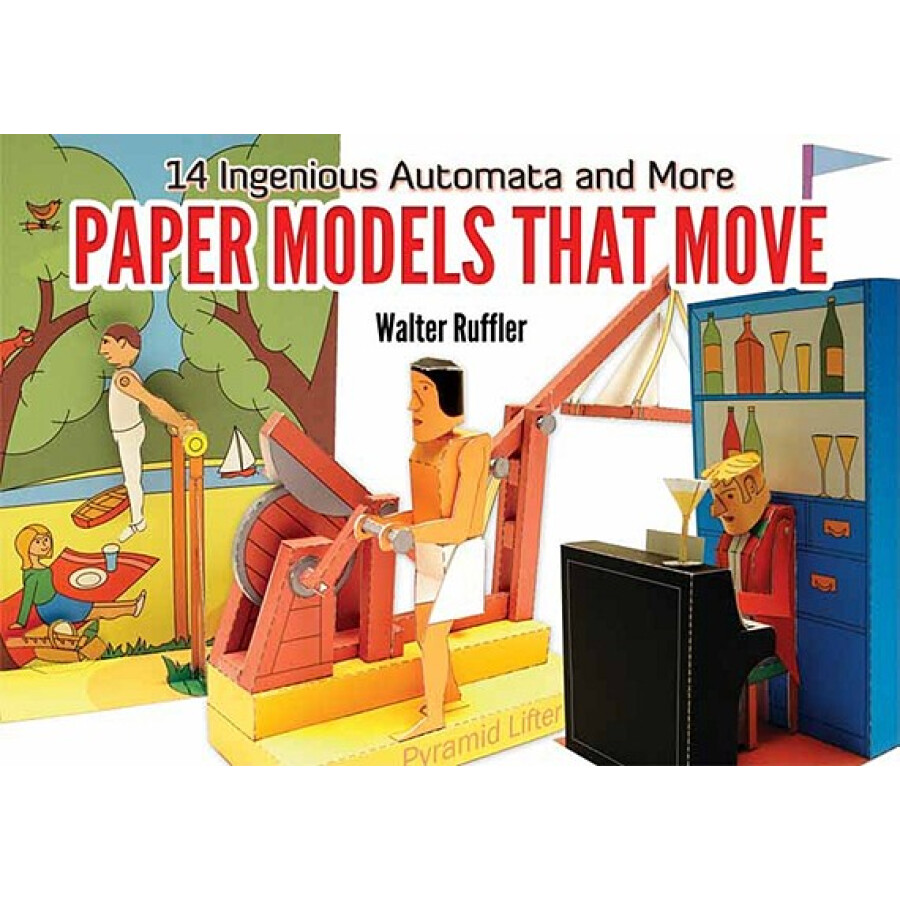 Paper Models That Move: 14 Ingenious Automata and More - 1317409 , 5121446362387 , 62_5300721 , 486000 , Paper-Models-That-Move-14-Ingenious-Automata-and-More-62_5300721 , tiki.vn , Paper Models That Move: 14 Ingenious Automata and More