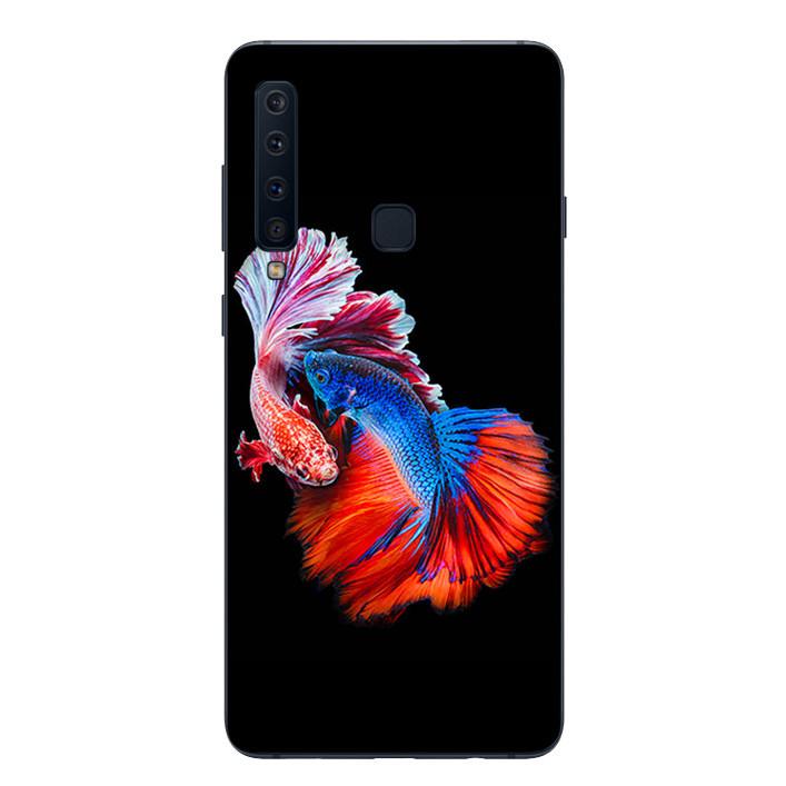 Ốp lưng Dẻo Cho Samsung Galaxy A9 2018 - Fish Couple