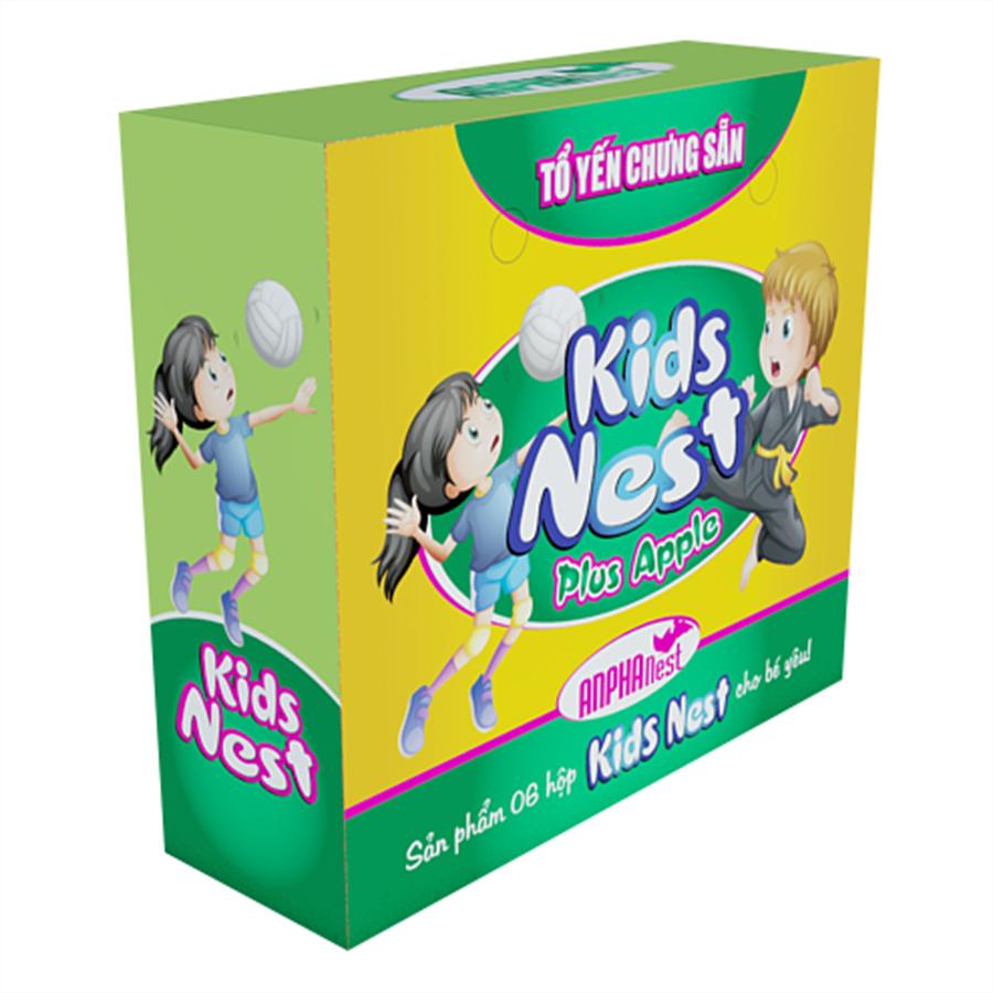 Tổ Yến Chưng Sẵn Kids Nest Plus Apple - Yến Sào Sài Gòn Anpha (6 Lọ / Hộp) - 7863763 , 8938508042067 , 62_1083904 , 270000 , To-Yen-Chung-San-Kids-Nest-Plus-Apple-Yen-Sao-Sai-Gon-Anpha-6-Lo--Hop-62_1083904 , tiki.vn , Tổ Yến Chưng Sẵn Kids Nest Plus Apple - Yến Sào Sài Gòn Anpha (6 Lọ / Hộp)